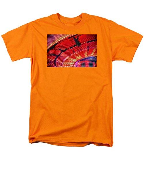 Men's T-Shirt  (Regular Fit) featuring the photograph Tulare Fairgrounds by John Swartz