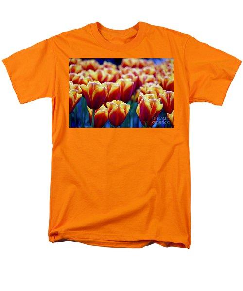Tulips At Sunset Men's T-Shirt  (Regular Fit)