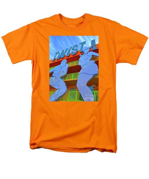 Twist Men's T-Shirt  (Regular Fit) by Beth Saffer