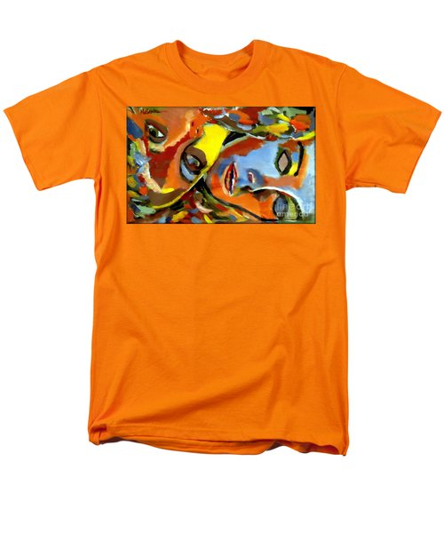 Men's T-Shirt  (Regular Fit) featuring the painting Two Souls by Helena Wierzbicki