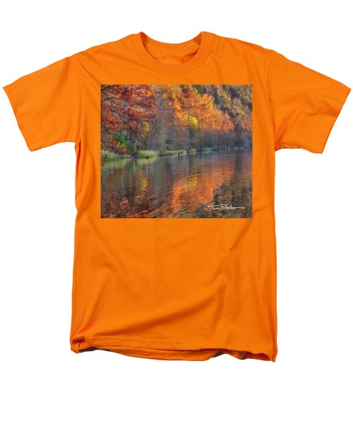 Tyler Lake Men's T-Shirt  (Regular Fit) by Tim Fitzharris