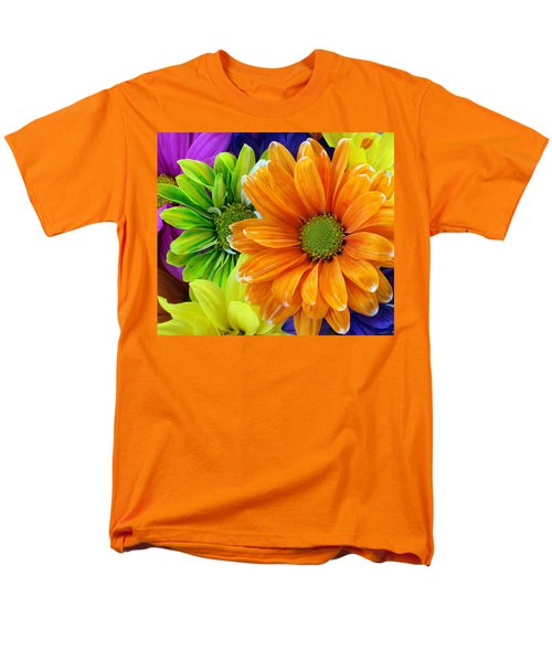 Upstaged By Orange Men's T-Shirt  (Regular Fit) by Angelina Vick