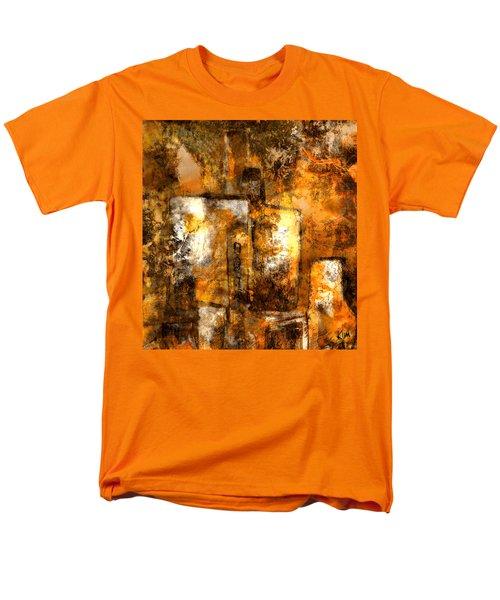 Men's T-Shirt  (Regular Fit) featuring the mixed media Urban #3 by Kim Gauge