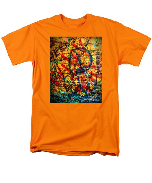 Men's T-Shirt  (Regular Fit) featuring the photograph Urban Grunge Two by Ken Frischkorn