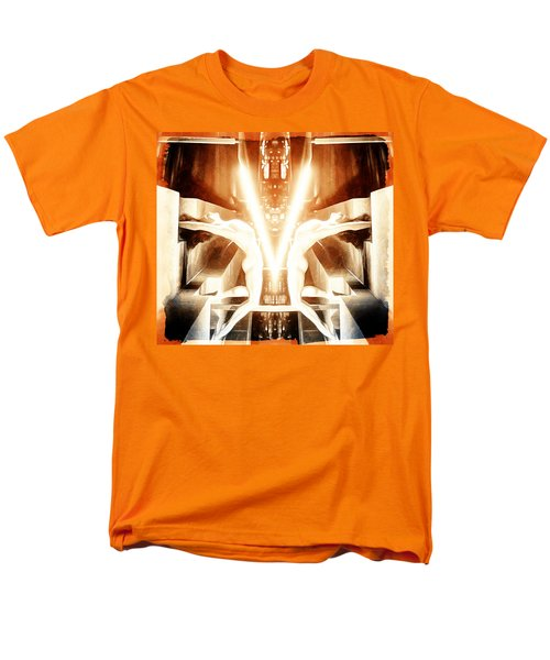 Men's T-Shirt  (Regular Fit) featuring the digital art V For Victory by Andrea Barbieri