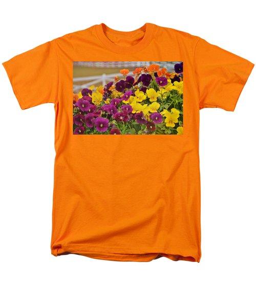 Vibrant Violas Men's T-Shirt  (Regular Fit) by JAMART Photography