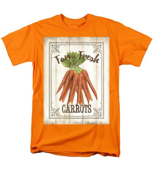 Men's T-Shirt  (Regular Fit) featuring the painting Vintage Fresh Vegetables 3 by Debbie DeWitt