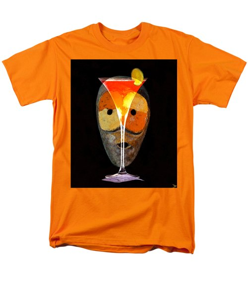 Men's T-Shirt  (Regular Fit) featuring the painting Voodoo Martini by David Lee Thompson