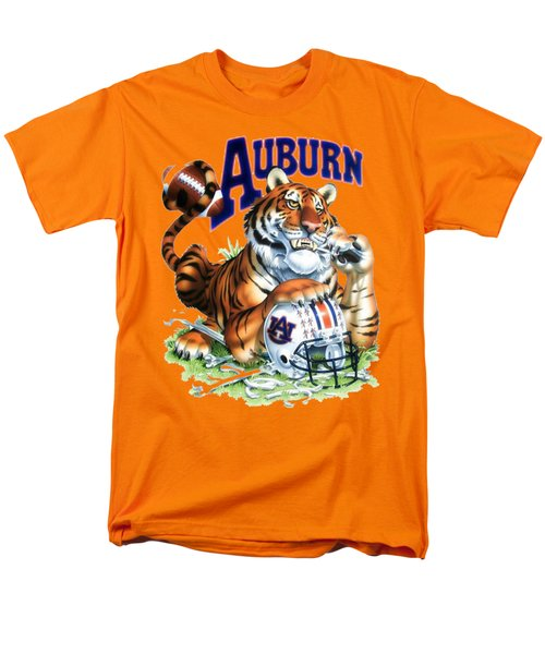 War Eagle  Men's T-Shirt  (Regular Fit) by Herb Strobino