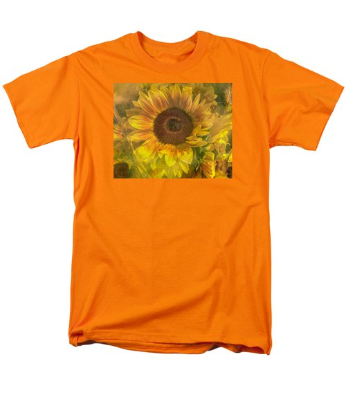 Men's T-Shirt  (Regular Fit) featuring the photograph Washed In Sun by Arlene Carmel