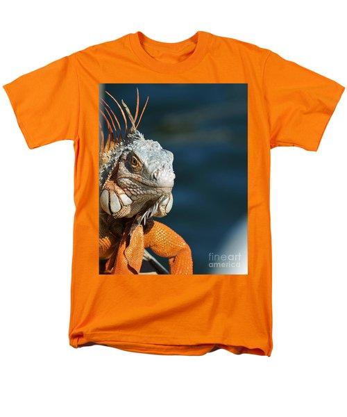 Men's T-Shirt  (Regular Fit) featuring the photograph Watchful Eye by Pamela Blizzard