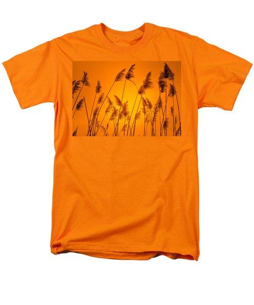 Wetland Sunset Men's T-Shirt  (Regular Fit) by Bruce Pritchett