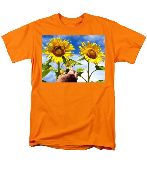Men's T-Shirt  (Regular Fit) featuring the photograph when I grow up by Trena Mara