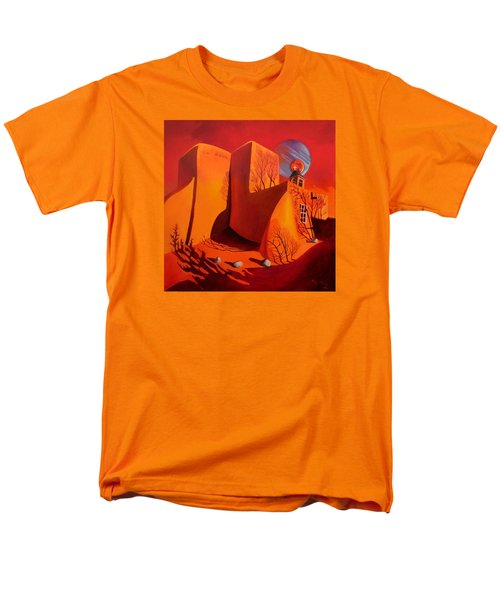 Men's T-Shirt  (Regular Fit) featuring the painting When Jupiter Aligns With Mars by Art West