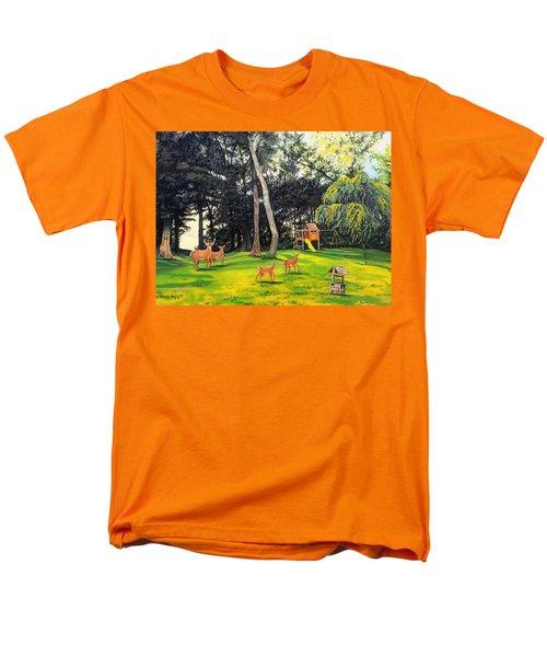 When World's Collide Men's T-Shirt  (Regular Fit) by Kevin F Heuman