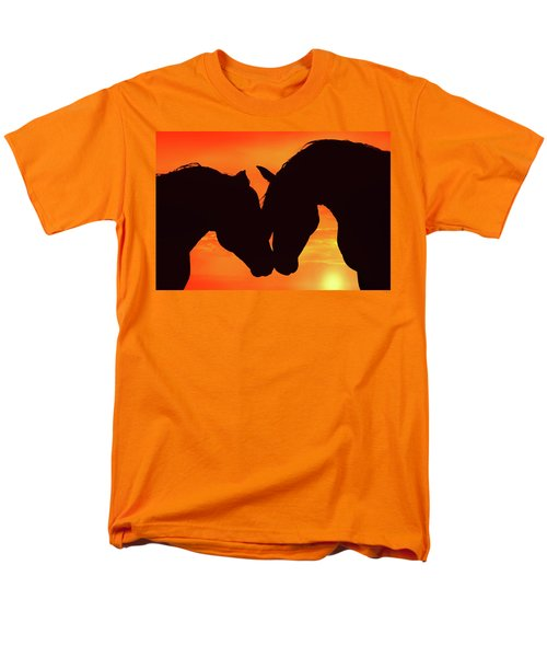 Wholeheartedly Men's T-Shirt  (Regular Fit) by Iryna Goodall