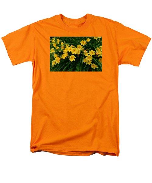 Wildflower Bouquet Men's T-Shirt  (Regular Fit) by Linda Edgecomb