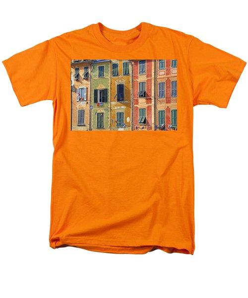 Windows Of Portofino Men's T-Shirt  (Regular Fit)