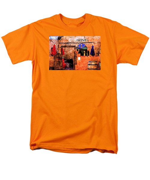 Men's T-Shirt  (Regular Fit) featuring the photograph Wine Bar Of The Southwest by Barbara Chichester