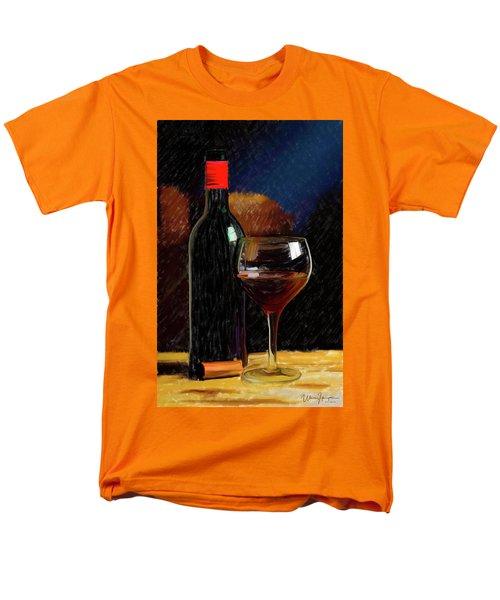 Wine Cellar 01 Men's T-Shirt  (Regular Fit) by Wally Hampton