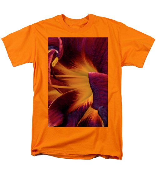 Men's T-Shirt  (Regular Fit) featuring the photograph Yellow And Purple by Jay Stockhaus
