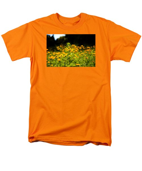 Yellow Field Men's T-Shirt  (Regular Fit) by Milena Ilieva