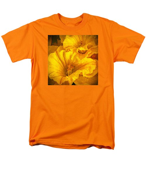Men's T-Shirt  (Regular Fit) featuring the photograph Yellow Flowers by Lewis Mann