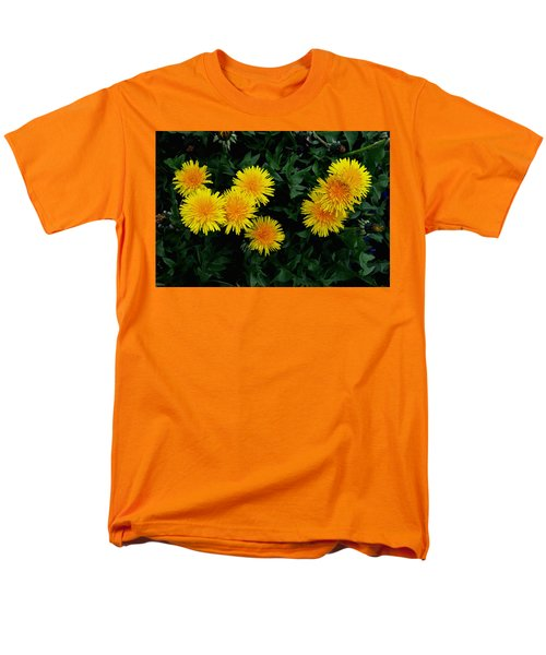 Yellow In Green Men's T-Shirt  (Regular Fit) by Dorin Adrian Berbier