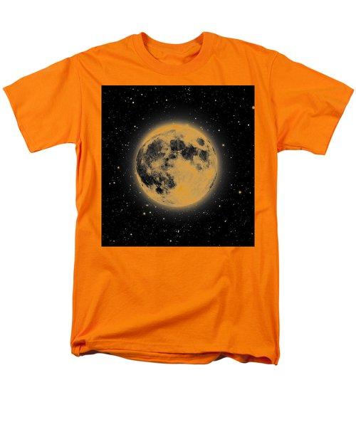 Yellow Moon Men's T-Shirt  (Regular Fit) by Thomas M Pikolin