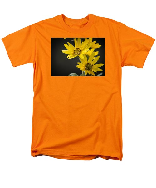 Yellow Men's T-Shirt  (Regular Fit)