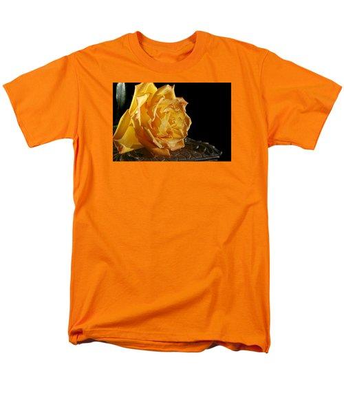 Yellow Rose Men's T-Shirt  (Regular Fit) by Robert Och