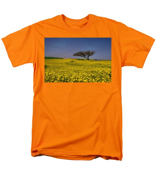 Men's T-Shirt  (Regular Fit) featuring the photograph Yellow Spring by Uri Baruch