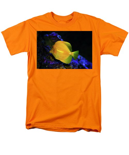 Men's T-Shirt  (Regular Fit) featuring the photograph Yellow Tang by Anthony Jones