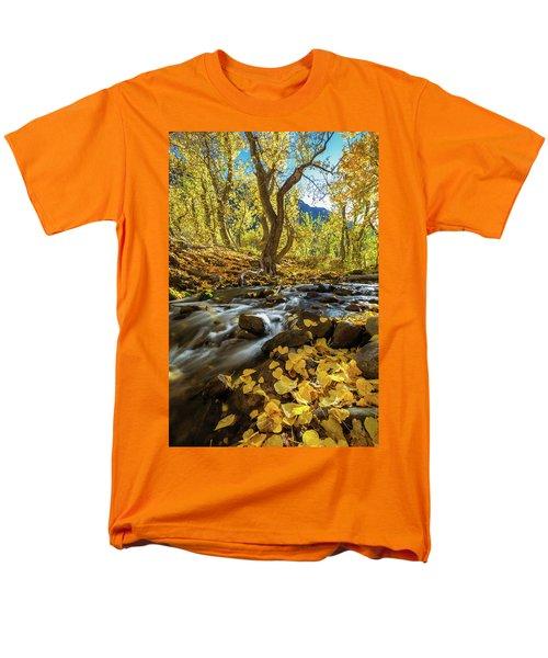Yellow Men's T-Shirt  (Regular Fit) by Tassanee Angiolillo