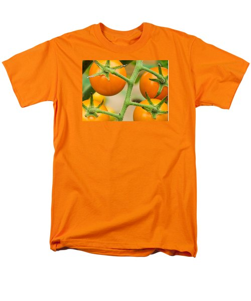 Men's T-Shirt  (Regular Fit) featuring the photograph Yellow Tomatoes by Paul Miller