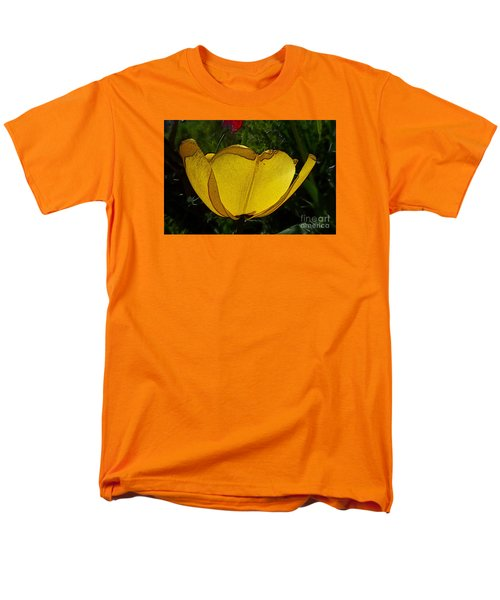 Yellow Tulip 2 Men's T-Shirt  (Regular Fit) by Jean Bernard Roussilhe
