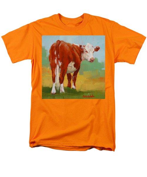 Young Cow Men's T-Shirt  (Regular Fit)