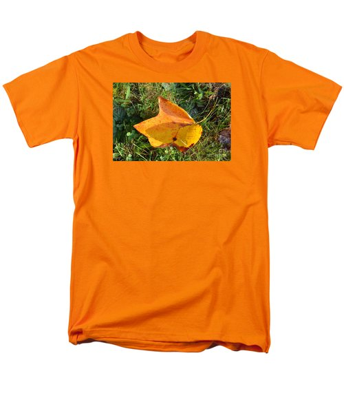 You're Always Leafing Me Men's T-Shirt  (Regular Fit) by Lew Davis