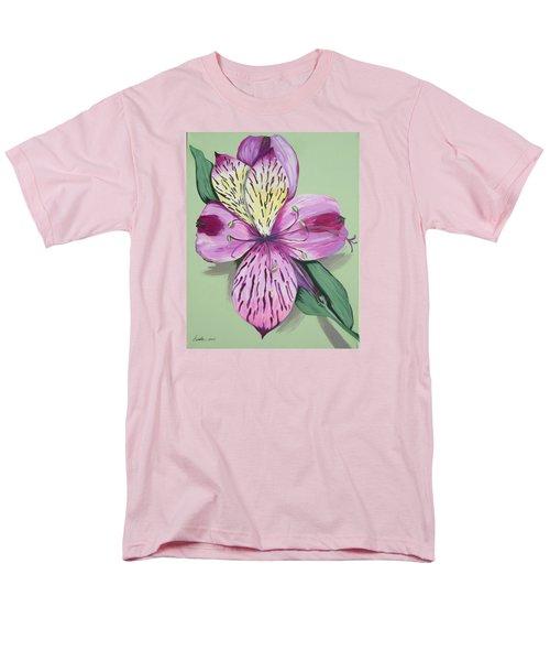 Alstroemeria No.1 Men's T-Shirt  (Regular Fit)