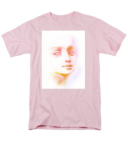 Men's T-Shirt  (Regular Fit) featuring the painting Angel Angel Oh So Bright by Hartmut Jager