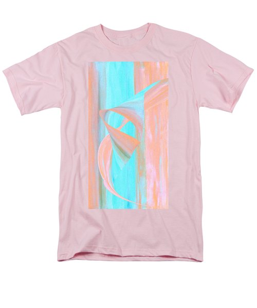 Men's T-Shirt  (Regular Fit) featuring the digital art Angelfish by Stephanie Grant