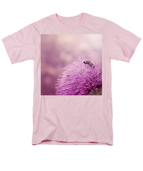 Beauty And The Bee Men's T-Shirt  (Regular Fit) by Trish Mistric
