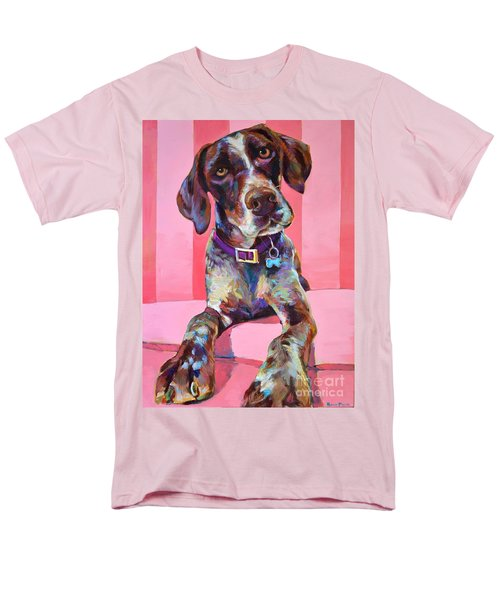 Men's T-Shirt  (Regular Fit) featuring the painting Big Hank by Robert Phelps