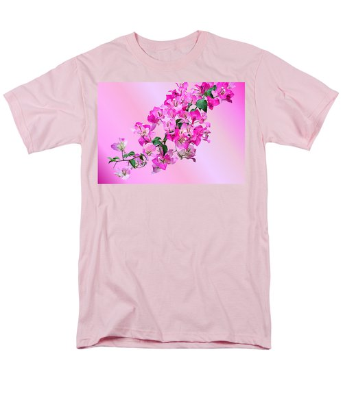 Men's T-Shirt  (Regular Fit) featuring the photograph Bougainvillea by Kristin Elmquist