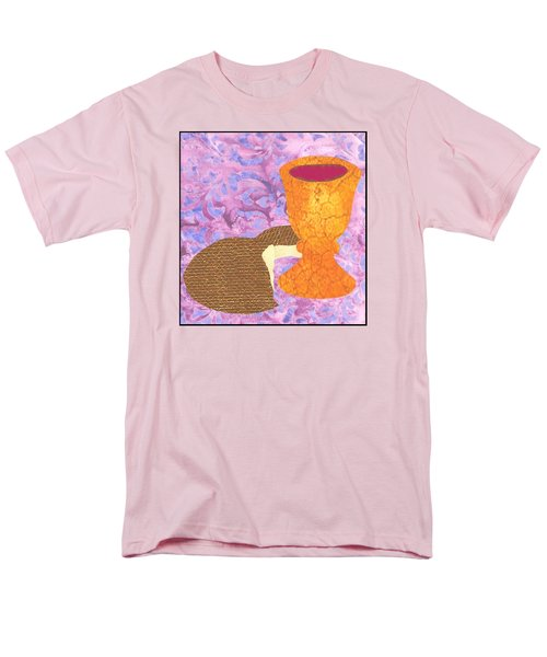 Bread And Cup Men's T-Shirt  (Regular Fit) by Jim Harris