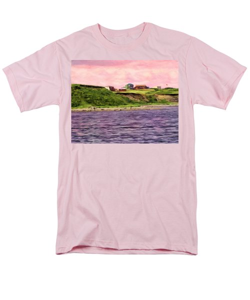 Cold Bay From The Dock Men's T-Shirt  (Regular Fit) by Michael Pickett