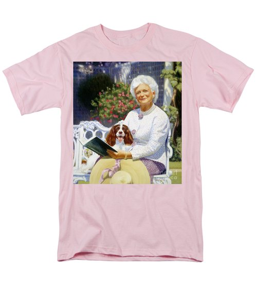 Companions In The Garden Men's T-Shirt  (Regular Fit) by Candace Lovely