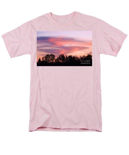 Men's T-Shirt  (Regular Fit) featuring the photograph Dragon Clouds by Meghan at FireBonnet Art