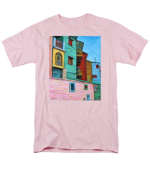 Geometric Colours II Men's T-Shirt  (Regular Fit)