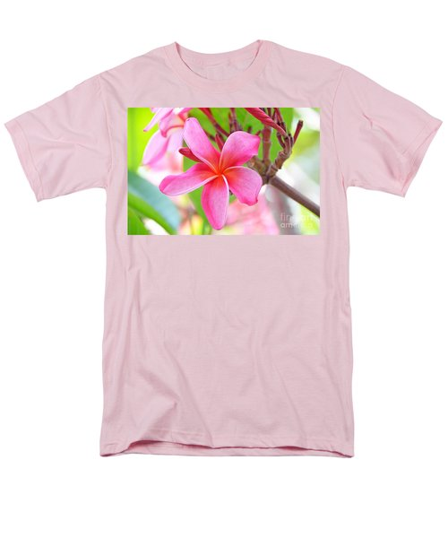 Men's T-Shirt  (Regular Fit) featuring the photograph Lovely Plumeria by David Lawson
